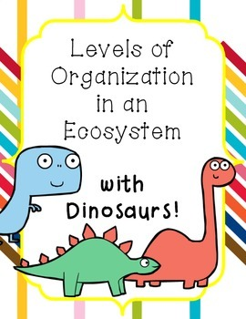 Levels of Organization in an Ecosystem Lesson with Anchor Charts