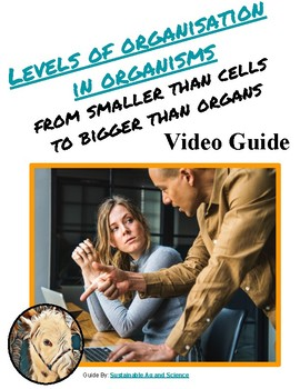 Levels of Organization in an Organism Video Notes Guide