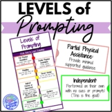 Levels of Prompting Infographic- Cues and Prompts in Autism Units & LIFE Skills