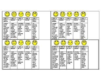 Responsible Behavior Quarter Sheet