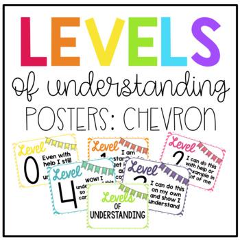 Levels of Understanding: Chevron Pattern