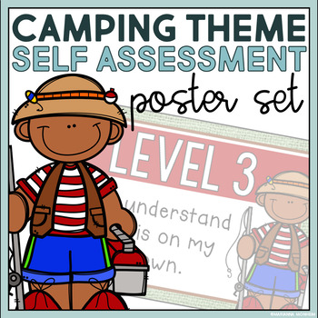 Levels of Understanding- Camping Themed Posters and Rubrics