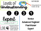 Levels of Understanding: Growth Mindset Edition