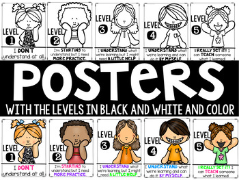 Levels of Understanding- Includes Cards and Posters