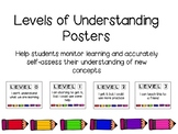 Levels of Understanding Posters