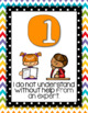 Levels of Understanding Posters Chevron and Polka-dot