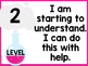 Levels of Understanding Posters - Science Theme