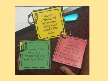 Levels of Understanding Student Flip Books