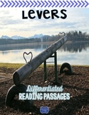 Levers {Differentiated Close Reading Passages & Questions}