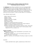 """Levi Strauss """"Mr. Blue Jeans"""" Obituary Rubric, Checklist, and Example"""