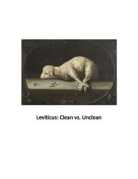 Leviticus Clean vs Unclean Purity Laws