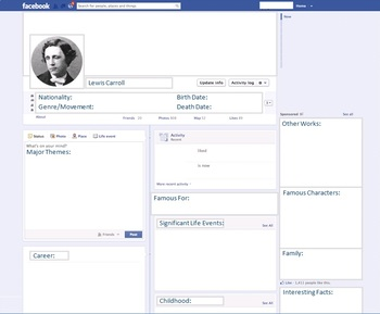 Lewis Carroll - Author Study - Profile and Social Media