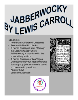 Lewis Carroll Worksheets Teaching Resources Teachers Pay