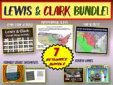 Lewis & Clark Bundle (map activity, comics, PPT, primary sources, games, & more)