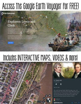 Lewis & Clark Expedition - Google Earth Activity