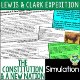 Lewis & Clark Expedition Simulation, Westward Expansion Activity