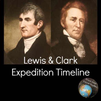 Lewis & Clark Expedition Timeline