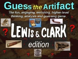 "Lewis & Clark ""Guess the Artifact"" game with pictures & clues (3 of 10)"