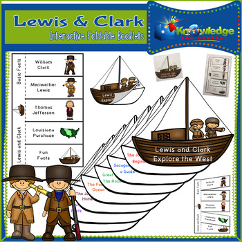 Lewis & Clark Interactive Foldable Booklets - EBOOK