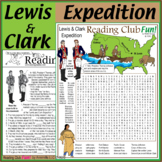 Lewis & Clark United States Expedition - Two Page Activity Set and Word Search