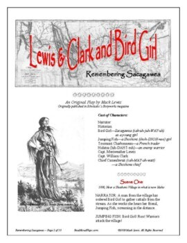 Lewis & Clark and Bird Girl: Sacagawea readers theater history play