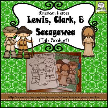 Lewis, Clark, and Sacagawea Tab Booklet