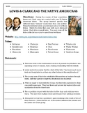 Lewis & Clark and the Native Americans