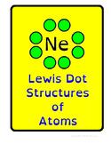 Valence Electrons / Lewis Dot Structures 2 Worksheets 3 Sk
