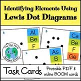 Distance Learning - Lewis Dot Diagram Task Cards - Printable + Digital Activity