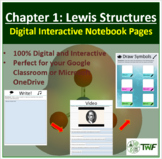 Lewis Structures - Digital Interactive Notebook Pages