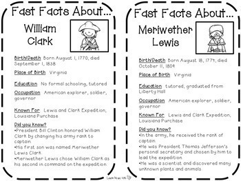 Lewis and Clark - Engaging Activities to Teach U.S. History