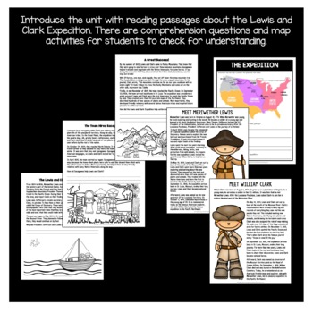 Westward Expansion: Lewis and Clark Expedition & Sacagawea