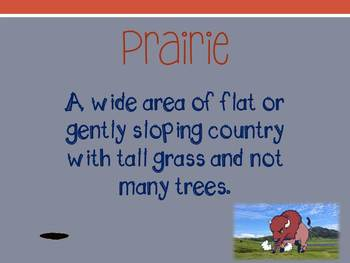 Lewis and Clark, A Prairie Dog for the President Vocabulary Power Point
