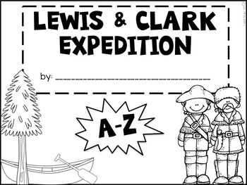 Lewis and Clark A-Z Book