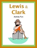 Lewis and Clark Activity Fun