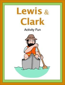 Lewis and Clark Activity Fun