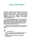 Lewis and Clark: Botany & Leaf Identification Lesson