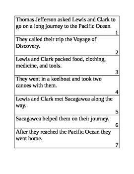 Lewis and Clark Center Book