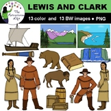 Lewis and Clark Clip Art