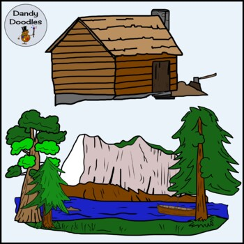 Lewis and Clark Clip Art by Dandy Doodles