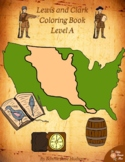 Lewis and Clark Coloring Book-Level A