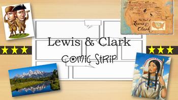 Lewis and Clark Comic Strip