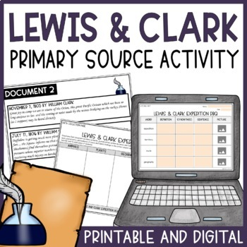 Lewis and Clark- Discovery Stations with DBQ
