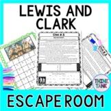 Lewis and Clark ESCAPE ROOM Activity - Westward Expansion