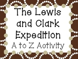 Lewis and Clark Expedition A to Z Activity