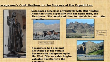 Lewis and Clark Expedition/Louisiana Purchase/Sacagawea-Westward Expansion