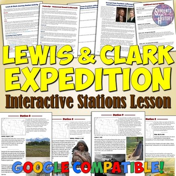 Lewis and Clark Expedition Stations Lesson