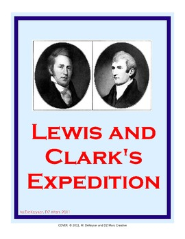 Lewis and Clark File Folder Center and Worksheet 4th-5th