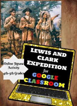 Lewis and Clark: Google Classroom Jigsaw