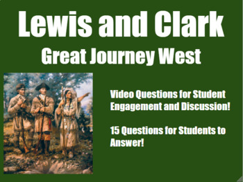 Lewis and Clark: Great Journey West- Video Guide